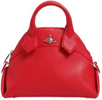 Vivienne Westwood Windsor Grained Leather Top Handle Bag
