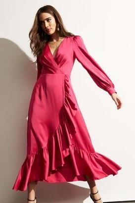 Sachin + Babi Ruby Dress- Magenta