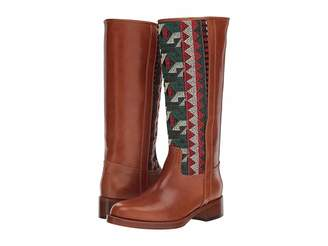 Etro Embroidered Tall Boot