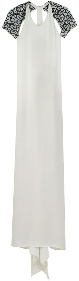 3.1 Phillip Lim / T-Back Silk Gown