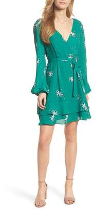 Chelsea28 Floral Faux Wrap Dress