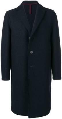 Harris Wharf London V-neck single breasted coat
