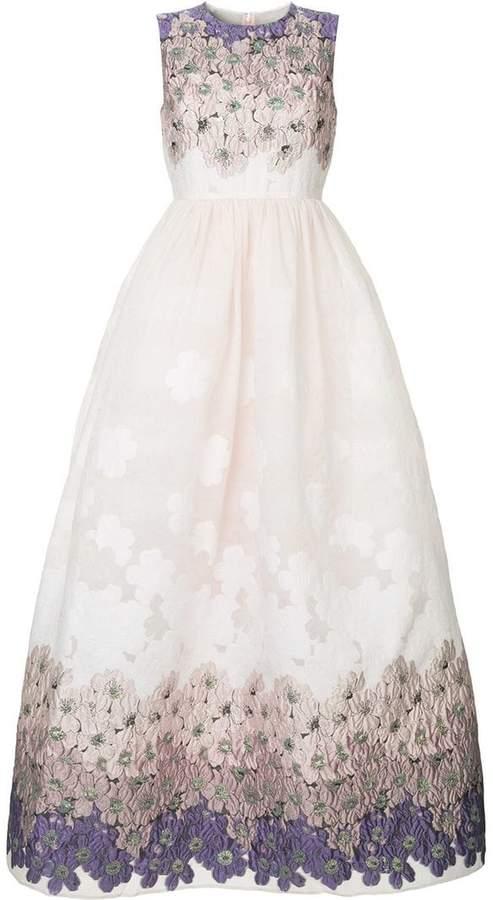 Huishan Zhang Blush Lilac gown