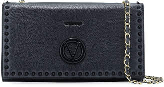Mario Valentino Valentino By Lena Studded Leather Clutch Bag