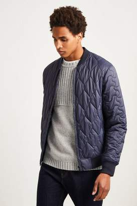 French Connenction Super Ski Patchwork Bomber Jacket