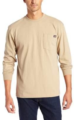 Dickies Men's Big & Tall Long-Sleeve Heavyweight Crew-Neck T-Shirt