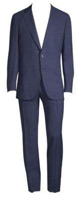 Isaia Summertime Pinstripe Suit