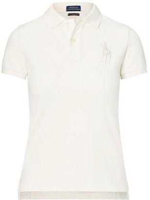 Polo Ralph Lauren Skinny Fit Big Pony Polo Shirt $98.50 thestylecure.com