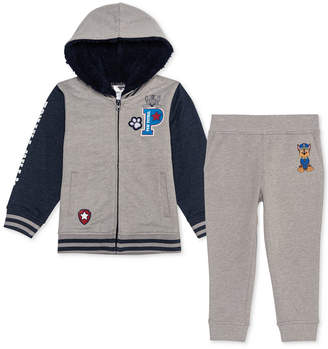 Nickelodeon Little Boys 2-Pc. Paw Patrol Varsity Jacket & Joggers Set