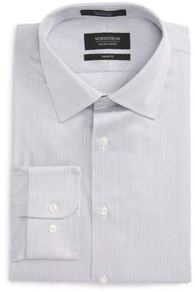 Nordstrom Trim Fit Stripe Dress Shirt