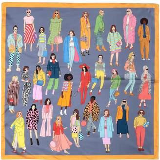Karen Mabon Square scarves