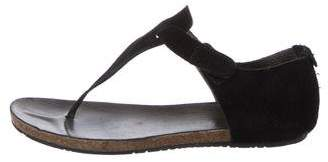 Pedro Garcia Suede Thong Sandals