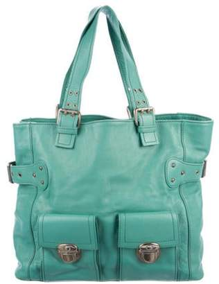 Marc Jacobs Large Buckle Tote Turquoise Large Buckle Tote