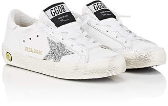 Golden Goose Kids' Superstar Leather Sneakers