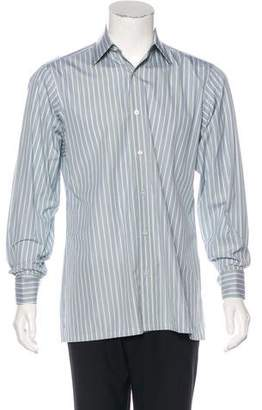 Charvet Striped French Cuff Dress Shirt