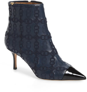 Tory Burch Penelope Embroidered Bootie