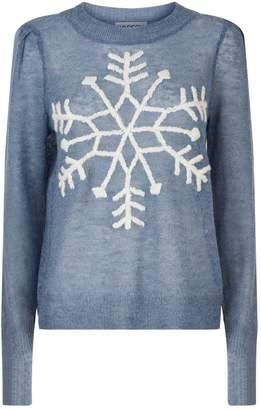 Wildfox Couture Snowflake Sweater