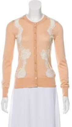 Dolce & Gabbana Cashmere & Silk Blend Cardigan