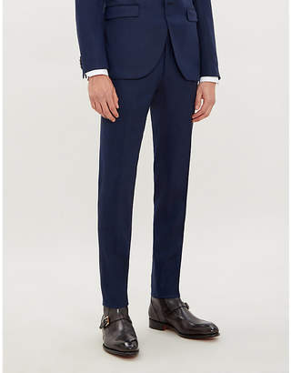 Tiger of Sweden Tordon slim-fit straight-leg wool-blend trousers