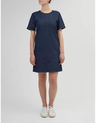 Community Clothing Boxy denim smock dress