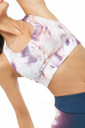 Forever 21 Medium Impact - Tie-Dye Sports Bra