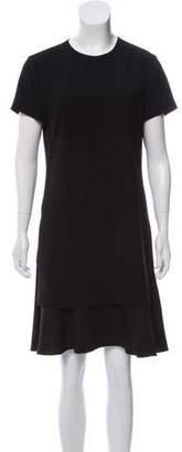 Theory Short Sleeve Knee-Length Dress