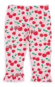 Fendi Baby's Cherry Print Leggings