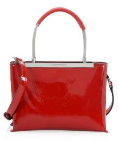 Alexander Wang Small Dime Leather Satchel