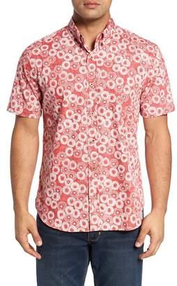 Reyn Spooner Opihi Rock Regular Fit Print Sport Shirt