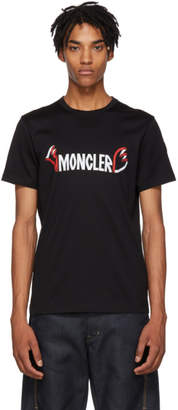 Moncler Genius 2 1952 Black Logo T-Shirt