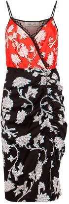 Diane von Furstenberg Ebony Wrap Dress