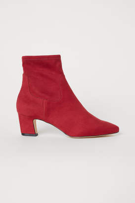 H&M Ankle Boots - Red