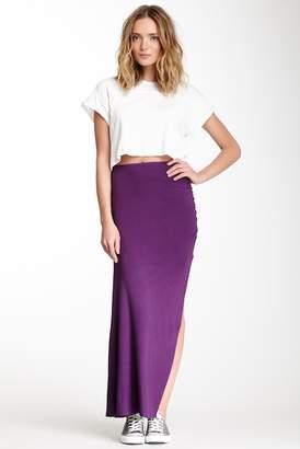 Loveappella Side Shirred Skirt