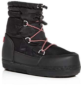 3251bd8b9da5 Hunter Women s Original Short Quilted Waterproof Platform Snow Boots