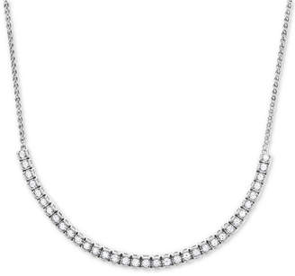 Wrapped in Love Diamond Adjustable Statement Necklace (1-1/2 ct. t.w.) in 14k White Gold