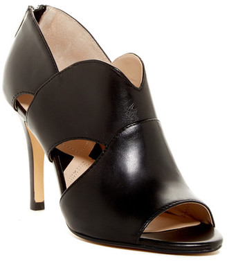 Adrienne Vittadini Gerlinda Cut-Out Sandal $119 thestylecure.com