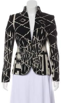 Altuzarra Wool Patterned Jacket
