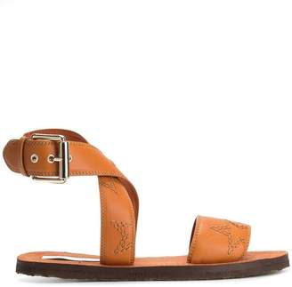 Stella McCartney stitch Star sandals