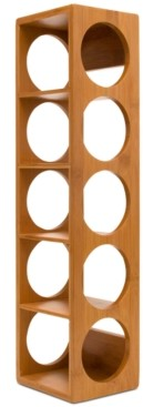 Lipper Stacking 5-Bottle Wine Rack
