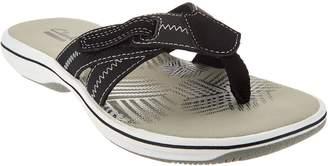 Clarks Adjustable Sport Thong Sandals - Brinkley Calm