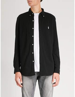 Polo Ralph Lauren Branded mesh cotton shirt