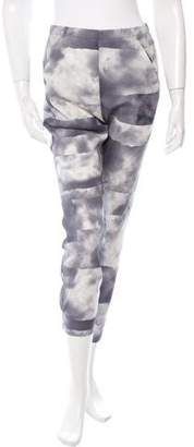 Zero Maria Cornejo Gabi Silk Cloud Printed Trouser w/ Tags