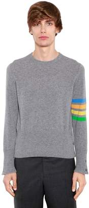 Thom Browne Striped Cashmere Knit Sweater