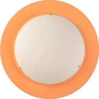 Camilla And Marc Dalber 41006J Round Indoor Lamp, Metal, Orange, 40 x 40 x 8 cm