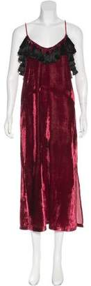 Rhode Resort Sara Tassel-Accented Dress w/ Tags