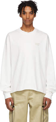 Resort Corps White Prophet Cropped Long Sleeve T-Shirt