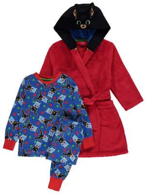 Bing George Pyjamas and Dressing Gown