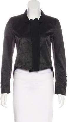 Ann Demeulemeester Structured Lightweight Jacket