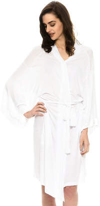 Asstd National Brand National Breast Cancer Foundation Inc. Rayon Jersey Robe