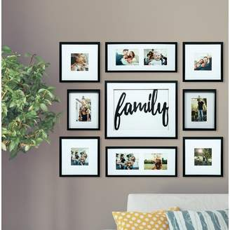 Co Darby Home Broderick 8 Piece Family Decor Picture Frame Set